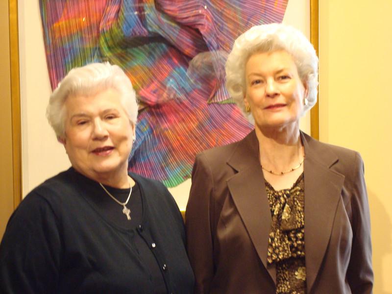 Eleanor Berry and Sylvia Swaim