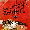 This is not an official entry but our Circulation Coordinator Billie wanted her friend to be included :-) This is Archie, a female tarantula, that lived with Billie for 35 years and has been preserved for posterity. Archie was once the special pet of the Children's Dept at Springville Road Library and had plenty of time to develop a love of children's books while in service there. Thank you for the great photo Billie!