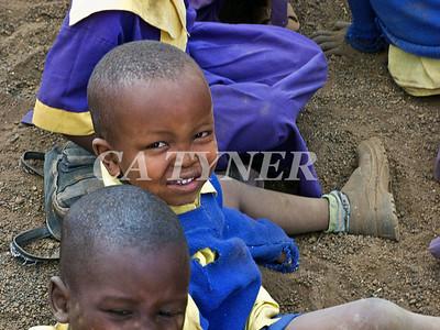 Library Opening Iltalal Village  Kanzi Kenya Africa 32