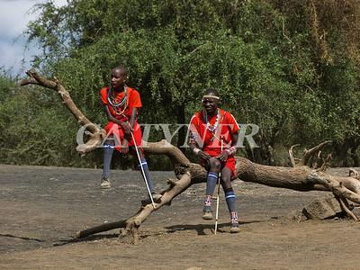 Library Opening Iltalal Village  Kanzi Kenya Africa 3