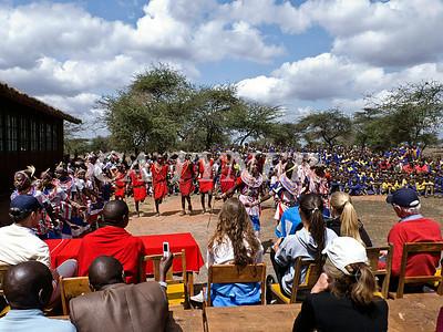 Library Opening Iltalal Village  Kanzi Kenya Africa 18