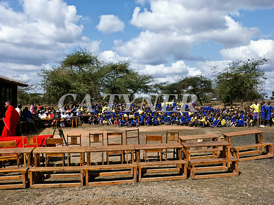 Library Opening Iltalal Village  Kanzi Kenya Africa 6