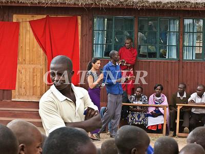 Library Opening Iltalal Village  Kanzi Kenya Africa 29