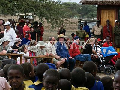 Library Opening Iltalal Village  Kanzi Kenya Africa 30