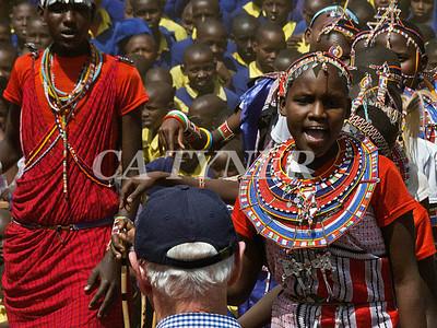 Library Opening Iltalal Village  Kanzi Kenya Africa 15
