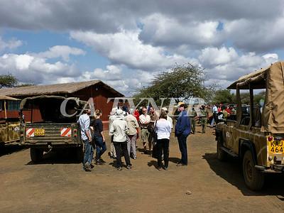 Library Opening Iltalal Village  Kanzi Kenya Africa