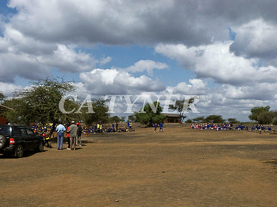 Library Opening Iltalal Village  Kanzi Kenya Africa 2