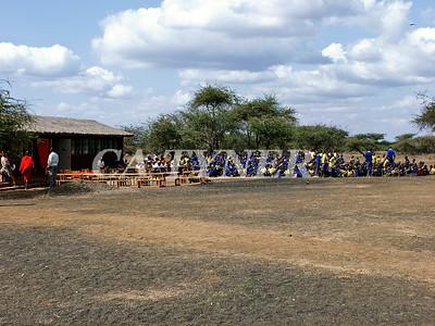 Library Opening Iltalal Village  Kanzi Kenya Africa 4