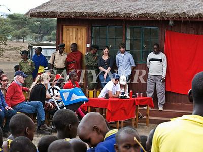 Library Opening Iltalal Village  Kanzi Kenya Africa 31