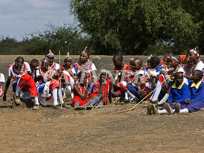 Library Opening Iltalal Village  Kanzi Kenya Africa 7