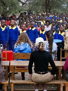 Library Opening Iltalal Village  Kanzi Kenya Africa 10