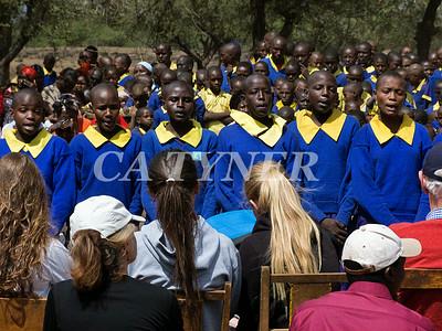 Library Opening Iltalal Village  Kanzi Kenya Africa 12