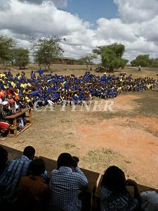 Library Opening Iltalal Village  Kanzi Kenya Africa 8