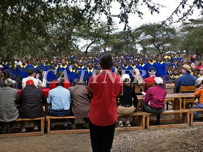 Library Opening Iltalal Village  Kanzi Kenya Africa 9