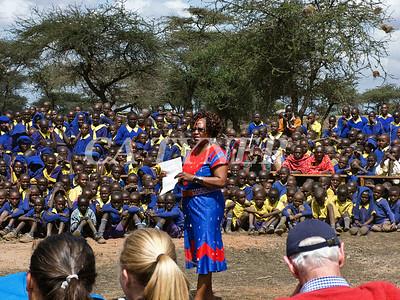 Library Opening Iltalal Village  Kanzi Kenya Africa 20