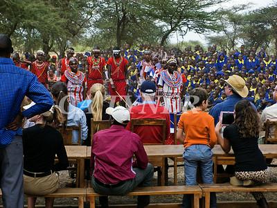 Library Opening Iltalal Village  Kanzi Kenya Africa 14