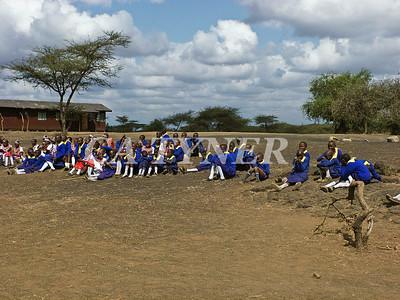 Library Opening Iltalal Village  Kanzi Kenya Africa 5