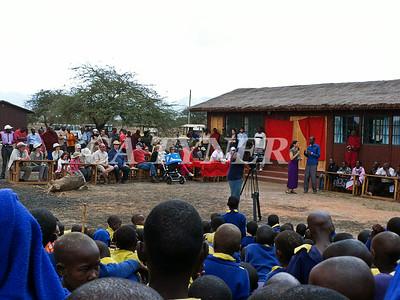 Library Opening Iltalal Village  Kanzi Kenya Africa 33