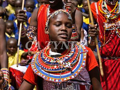 Library Opening Iltalal Village  Kanzi Kenya Africa 19