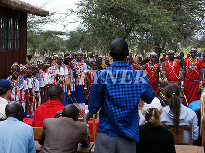 Library Opening Iltalal Village  Kanzi Kenya Africa 13