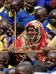 Library Opening Iltalal Village  Kanzi Kenya Africa 28