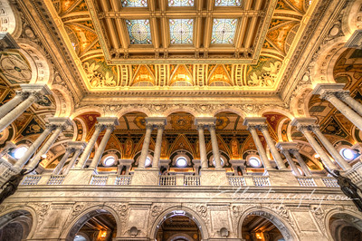 Library of Congress, Great Hall Balcony
