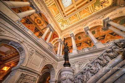 Library of Congress, The Great Hall Staircase