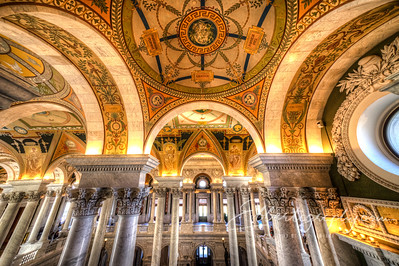 The Great Hall, Library of Congress