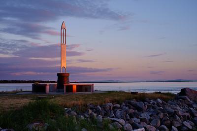 Fisherman's Memorial, Garry Point Park.