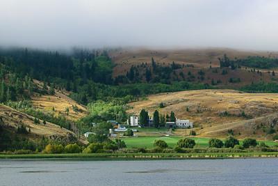 Private residence near Merritt, on Nicola Lake.