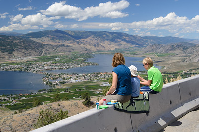 Stopping for lunch east of Osoyoos.
