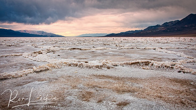 Badwater Basin  Death Valley, California