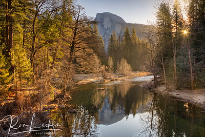 Half Dome from Sentinel Bridge, Yosemite National Park