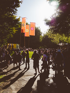 Walking into WOMAD