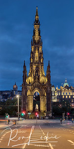 The Scott Monument, Edinburgh