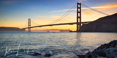 Golden Gate at the Golden Hour