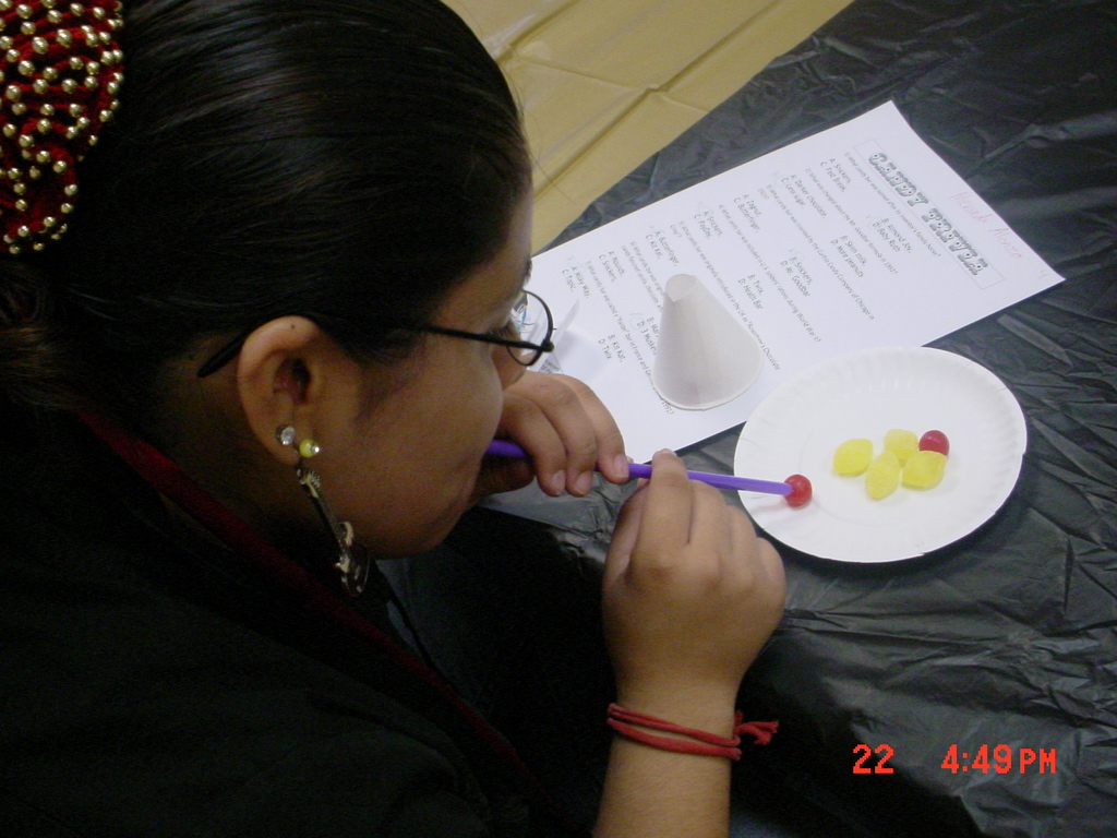 Teens came together at the Lark Branch Library to test their true devotion to sweet stuff with a candy trivia and crafts.