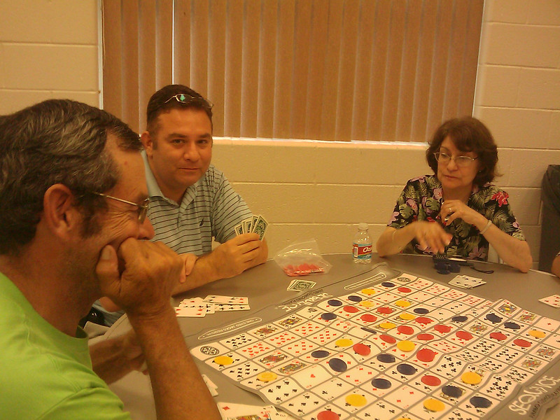 Family Game Night at Lark Branch Library.