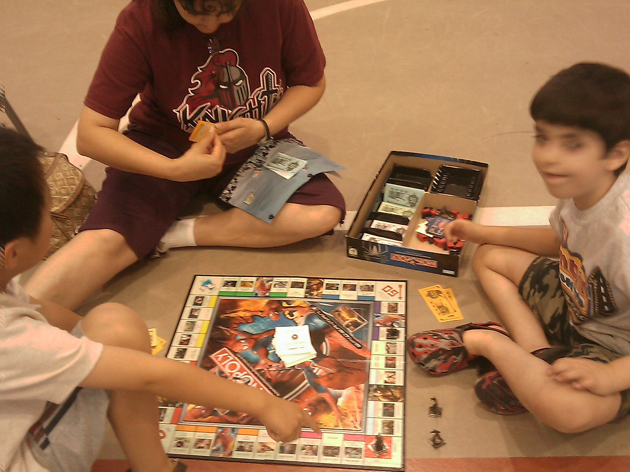The Lark Branch of the McAllen Public Library hosted a board game extravaganza on July 17th, from 1:30 to 3:30pm at the Lark Community Center gym.