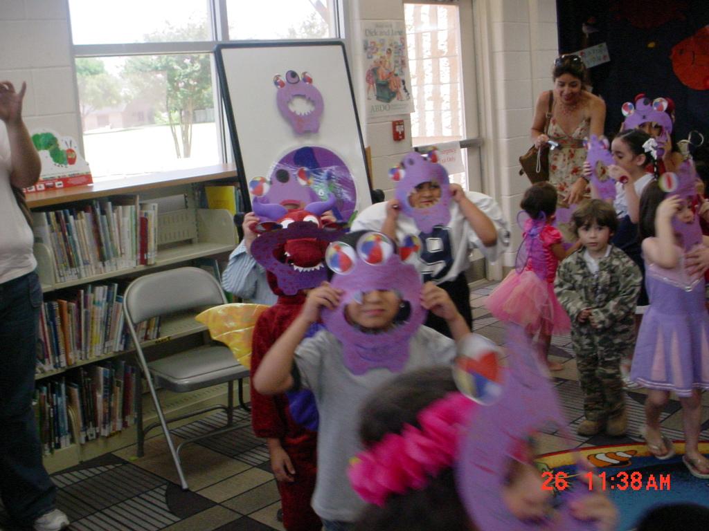 Summer reading program at the Lark Branch Library.