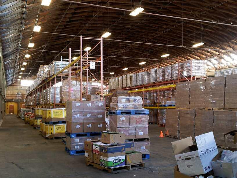 A look at the RGV Food Bank warehouse.
