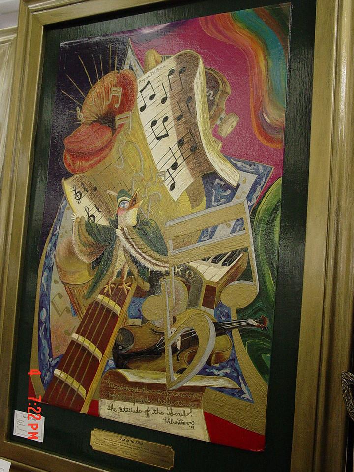 """""""Paz de Mi Alma""""<br /> Walter Stevens - artist, sculptor, & muralist<br /> walkerstevens@gmail.com<br /> 956-483-9606"""