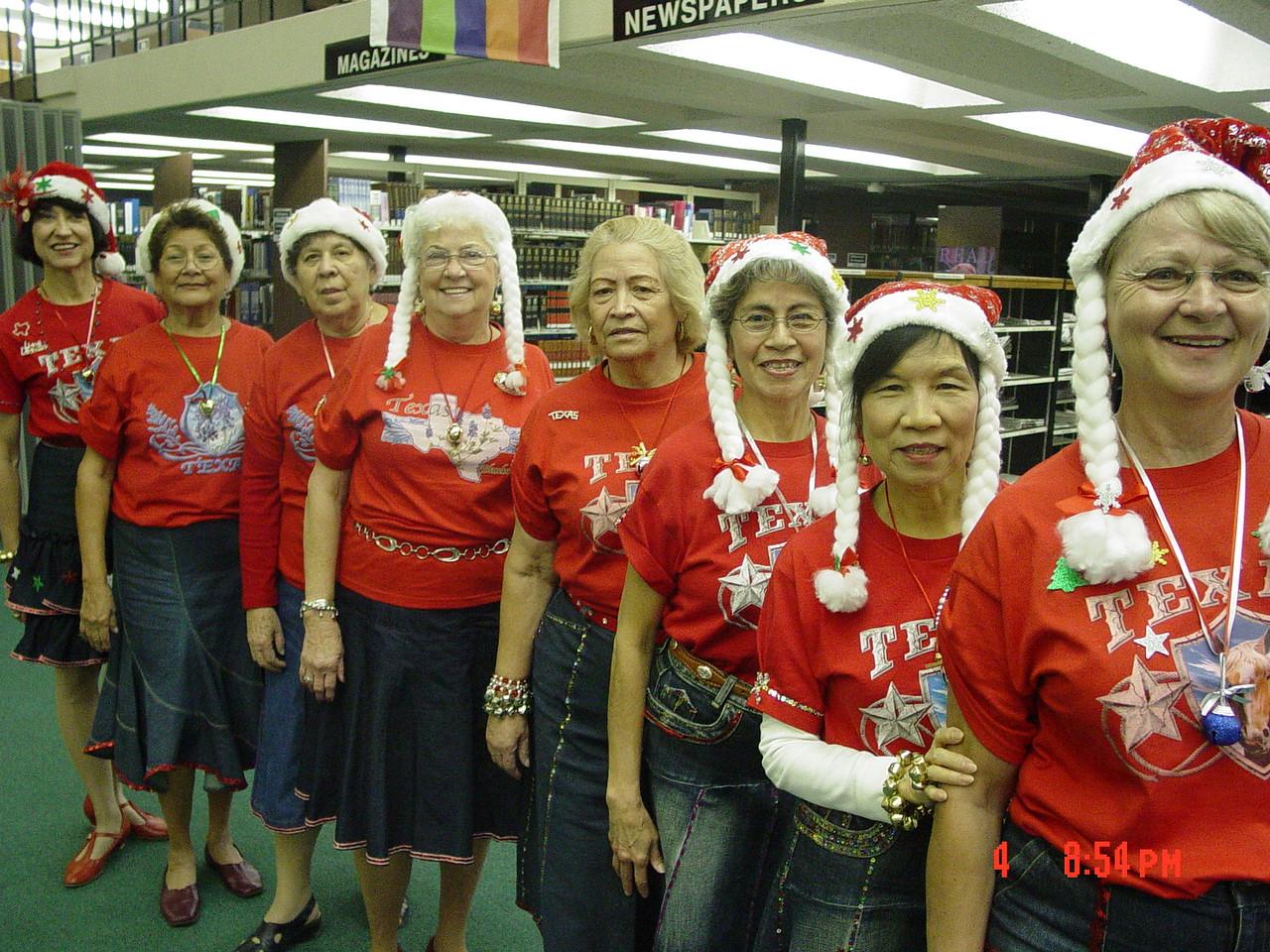 Texas Line Dancers