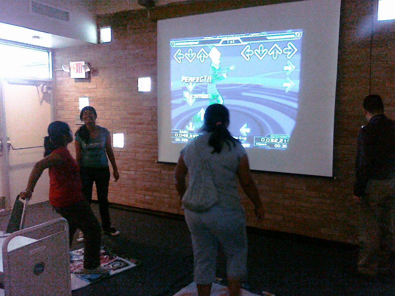 Teens challenging each other during our Game-ology Day (Teen SRP 2010) at Main library.