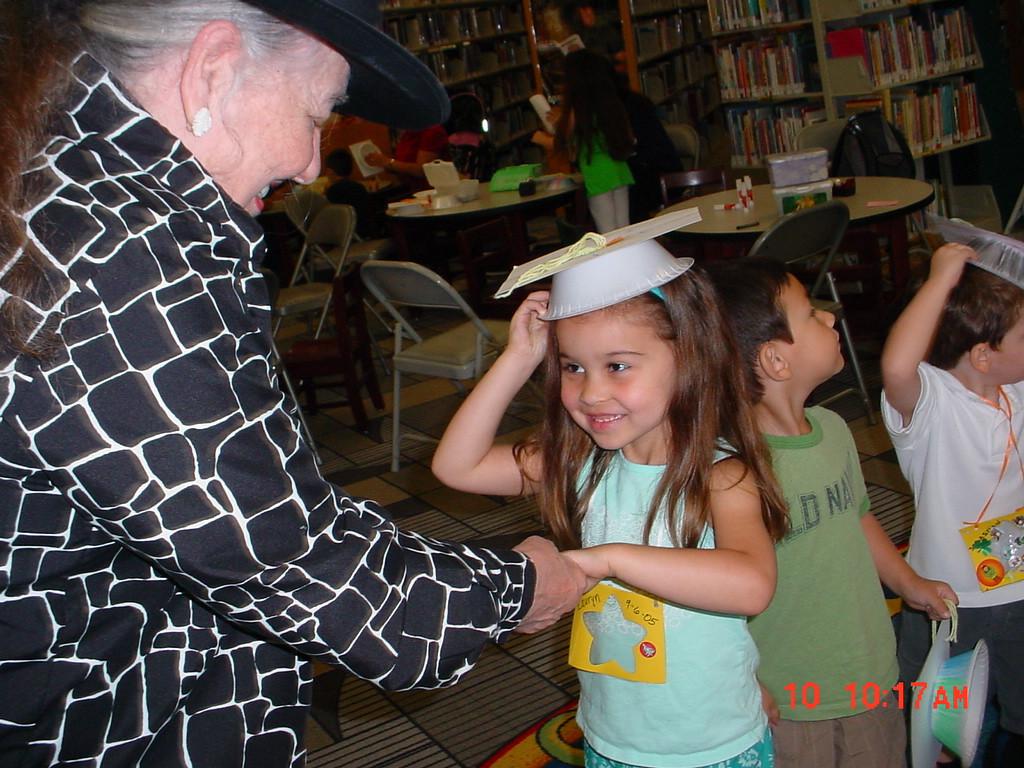 Graduation at Lark Branch Library.