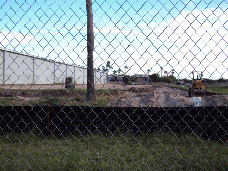 8/11/2010 - View of the rear of the building (west side).