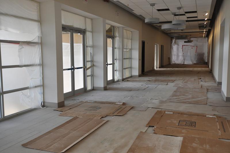 View of the meeting room corridor.