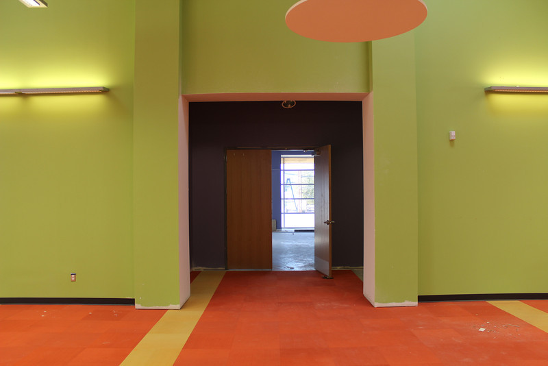 entrance to the children's programming room in the south side of the children's section