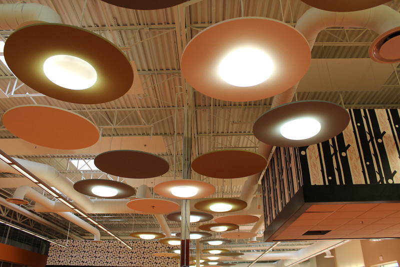 children's section lights