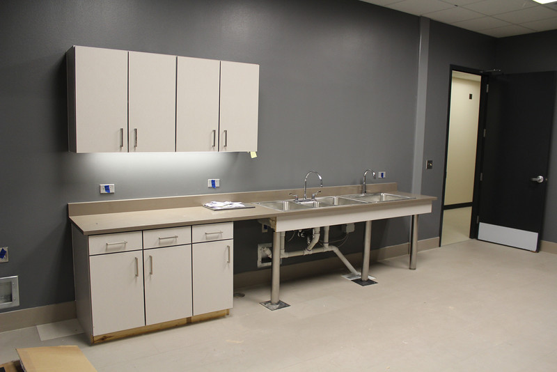 prep kitchen attached to Meeting Rooms A & B